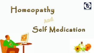Homeopathy And Self Medication