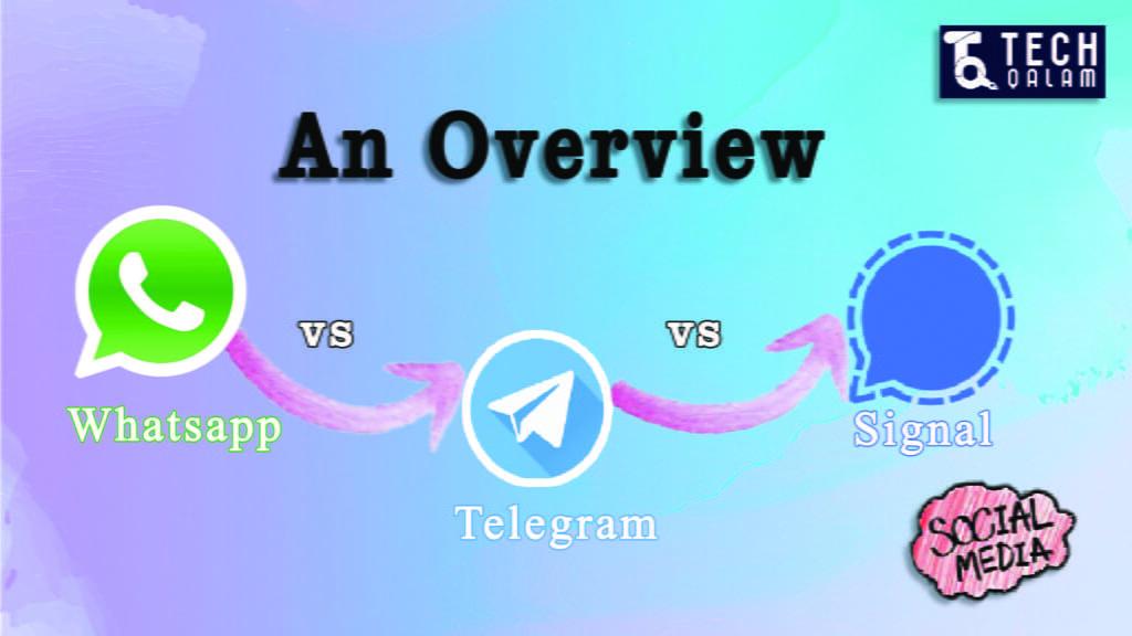 Using Signal vs Telegram vs WhatsApp on laptop
